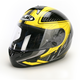 Black/Yellow/Black Voltage CL-16 Helmet