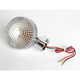 Clear Lens/Amber Bulb Turn Signal Assemblies - 25-1105C