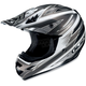 AC-X3 Option Helmet /Adult/Silver/Silver/White/Female/Male