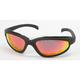 Black C-1 RV Performance Sunglasses w/Red RV Lens - C-1BK/RED