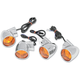 Bullet-Style DOT-Approved Turn Signal Kit - 2020-0391