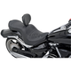 Mild Stitch Low-Profile Double-Bucket Seat with Backrest - 0810-0750