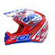 Red/Blue 5 Series Blazer Helmet