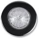 LED Saddlebag Marker/Signal Light Kit with Titanium-Plated Black Chrome Trim Rings and Amber Lights - 2040-0801