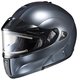 Anthracite IS-MAX BTSN Helmet w/Electric Shield