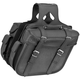 Braided Large Quantum Slant Saddlebags - 10-8997