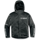Black Mechanized 4 Insulated Jacket