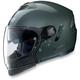 Metallic Lava Gray N43ET Trilogy N-Com Helmet