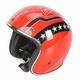 Orange Lines FX-76 Helmet