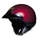 St-Cruz Metallic Wine Red Helmet