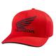 Red Honda FlexFit Hat