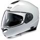 Metallic White N104 N-Com Modular Helmet