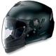 Outlaw Flat Black N43ET Trilogy N-Com Helmet