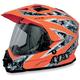 FX39 Urban Orange Helmet