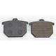 Standard Organic/Carbon Fiber Brake Pads - VD112