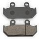 Standard Organic/Carbon Fiber Brake Pads - VD1432