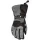 Womens Gunmetal/Black Cascade Gloves