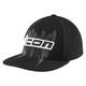 Black Abrasion Flatbill Hat