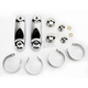 Chrome 49mm Mounting Kit for Spartan/SwitchBlade Windshields - KIT-Q143