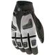 Gunmetal/Black Hybrid Gloves