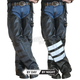 Black Ops Leather Hook Chaps
