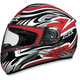 FX-100 Red Multi Helmet