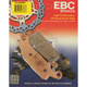 SV Severe Duty Sintered Metal Brake Pads - FA443SV