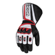 Black/Red Compound Mesh Long Gloves