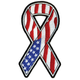 US Flag Ribbon Patch - 61599