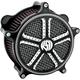 Mission Contrast Cut Venturi Air Cleaner - 0206-2011-BM