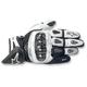 White/Black SP-X Leather Gloves