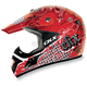 Red VX-17 Bling Helmet