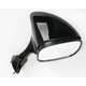 Black OEM-Style Replacement Rectangular Mirror - 20-43051