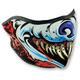 Lethal Threat Wolf Half Mask - WNFMLT10H