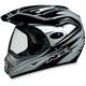 FX37 Dual Sport Silver Multi Helmet - 01102145