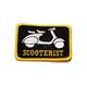 Scooterist Patch - PASCTRST1