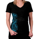Womens Black Sanford T-Shirt