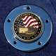 Max 1.8 Inch Timing Cover Coin Mount With September 11th 2-Sided Coin - JMPC-M-5-SEPT11