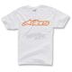 White/Orange Blaze T-Shirt