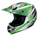 AC-X3 Option Helmet /Adult/Green/Green/Silver/White/Female/Male