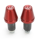 Red Bar End V2 Weights - DBEW2-RD