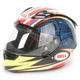 Blue/Red/Yellow Airtrix Laguna Star Carbon Helmet - Convertible To Snow