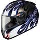 Black/Blue/White RKT-Prime Rampage Helmet
