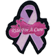 Ride for a Cure Mini Embroidered Patch - MN32028