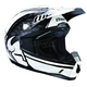 Youth Black/White Splatter Quadrant Helmet