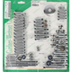 Polished Chrome Motor Bolt Kit - P-96-77