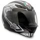 Silver Black/Gunmetel K4 EVO Helmet
