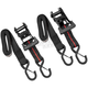 Black/Red 1 1/2 in. Ratchet Tie Downs - 10-0554
