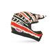 Black/White/Red MX-2 Reverb Helmet