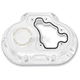 Chrome Clarity 6-Speed Transmisson Side Cover - 0177-2022-CH